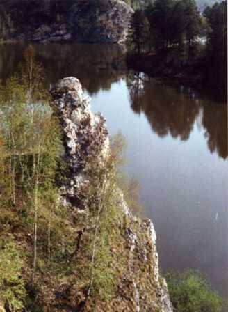 1992.06. - Первый сплав по реке Чусовая